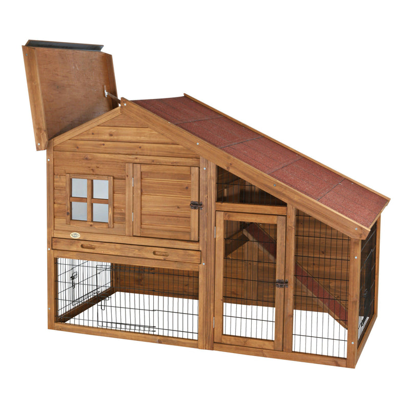 natura Rabbit Cabin with a View Hutch