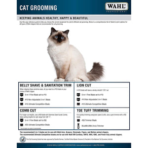 Wahl Professional Animal Chromado Pet, Dog, Cat, and Horse Corded / Cordless Clipper