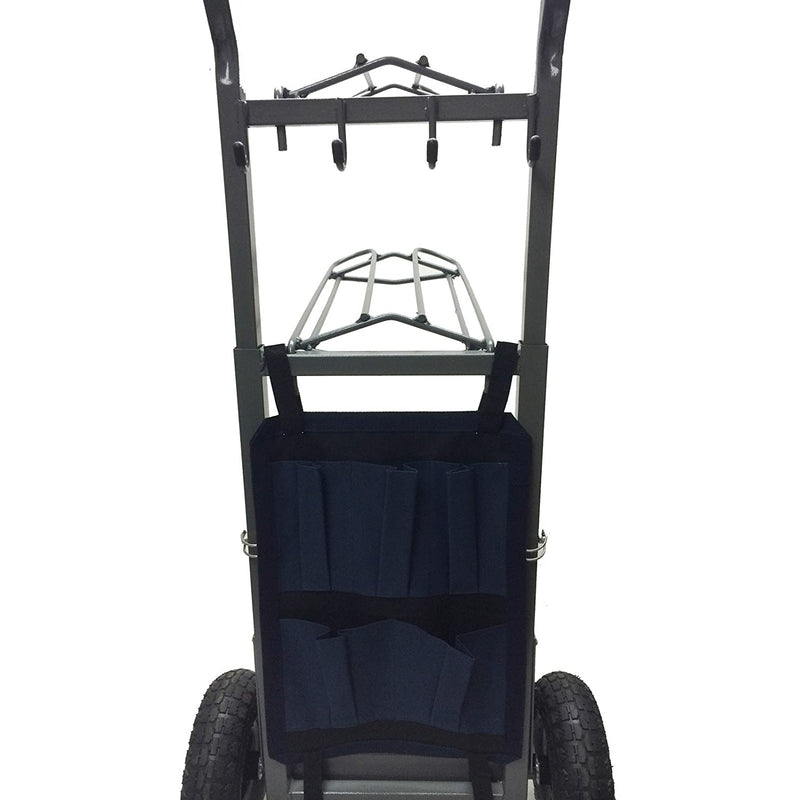 High Country Plastics Two Wheel Saddle Rack Cart