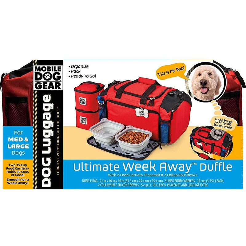 Overland Dog Gear Gear Ultimate Week Away Duffle