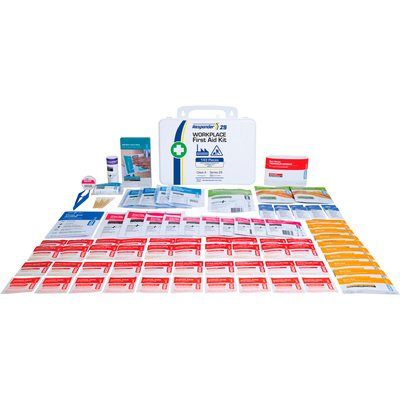 Aero Healthcare Responder 25 Workplace First Aid Kit — 143 Pcs., White, Model