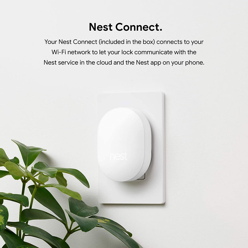 Google, Nest x Yale Lock with Nest Connect, Smart Lock