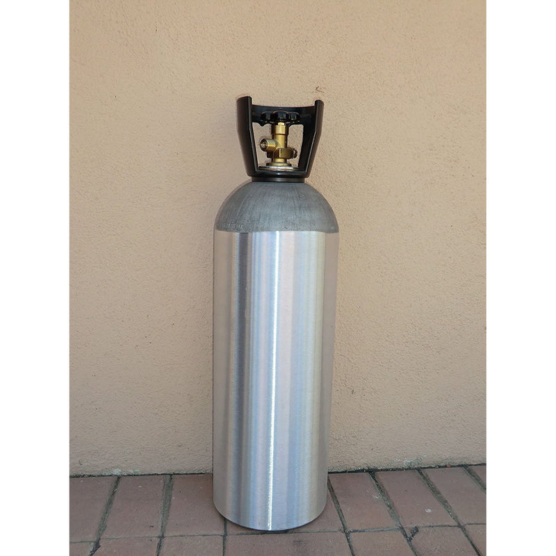 20 lb. Aluminum Co2 Tank Compressed Gas Air Cylinder for Keg Beer