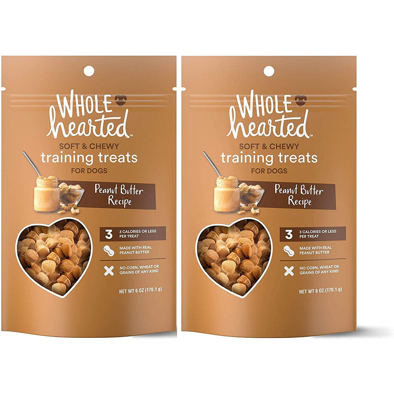 WholeHearted Grain Free Soft and Chewy Dog Training Treats