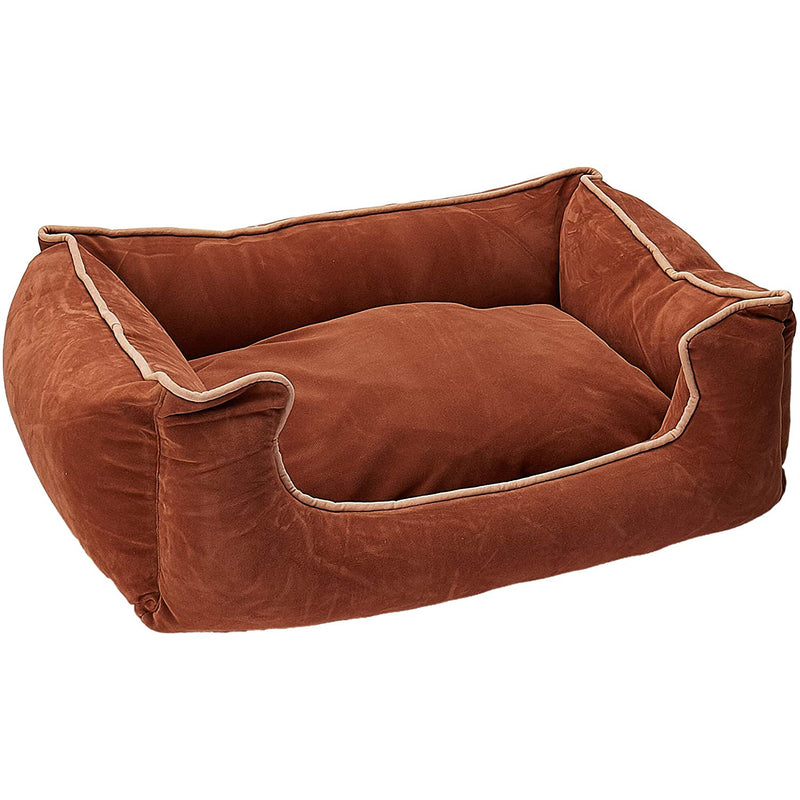 Carolina Pet Company Microfiber Low Profile Kuddle Pet Bed Lounger
