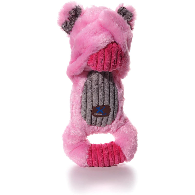 Charming Pet Squeeze-Action Plush Dog Toys - Pop-Out Surprise for Toss and Fetch Play