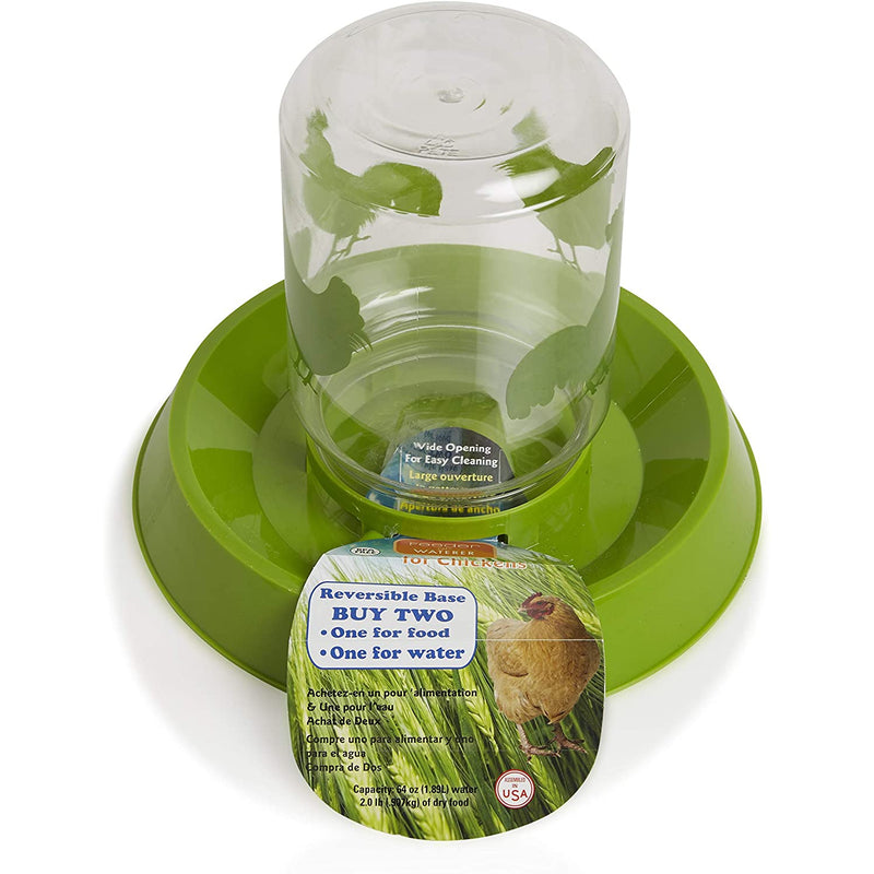 Lixit Feeder/Waterer for Chickens