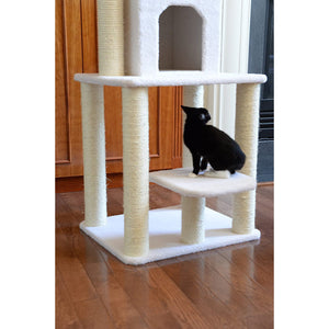 Aeromark International Armarkat Cat Tree Furniture Condo, Height- 60-Inch to 70-Inch