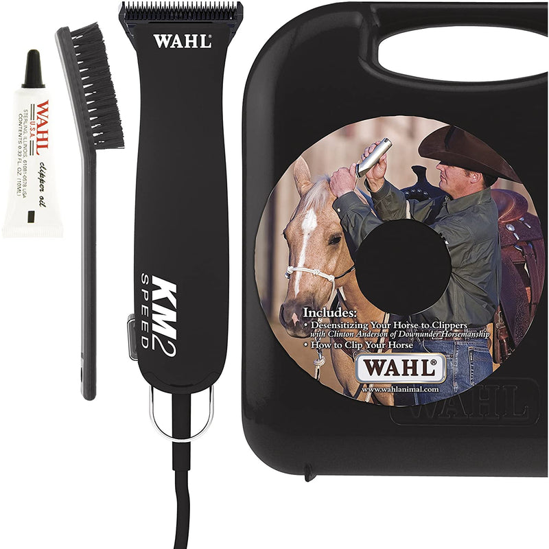 Wahl Professional Animal KM2 Equine 2-Speed Horse Clipper Kit (