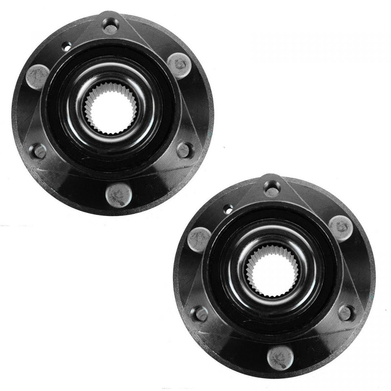 Viogi  Set of 2 Front Rear Side Wheel Hub and Bearing Assembly Compatible with 2008-2017 Enclave 2009-2017 Traverse 2007-2016 Acadia 2017 Acadia Limited 2007-2010 Outlook