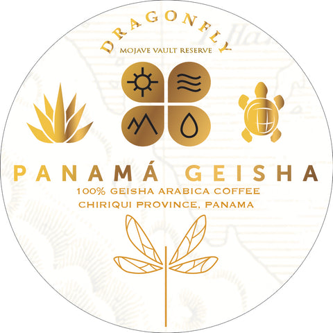 Panama Geisha - Esmeralda Geisha Mario Washed Process - 8oz WHOLE BEAN