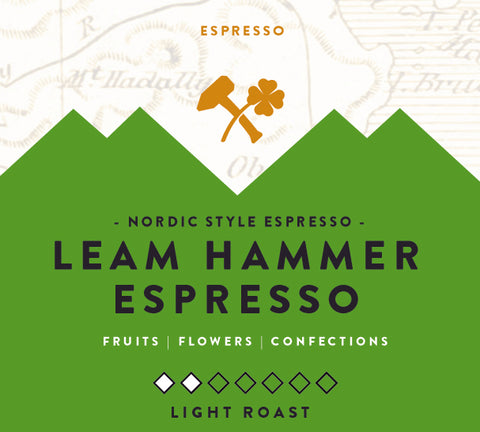America's Best Espresso 2nd Place - The Leam Hammer Blend - 12 oz Whole Bean