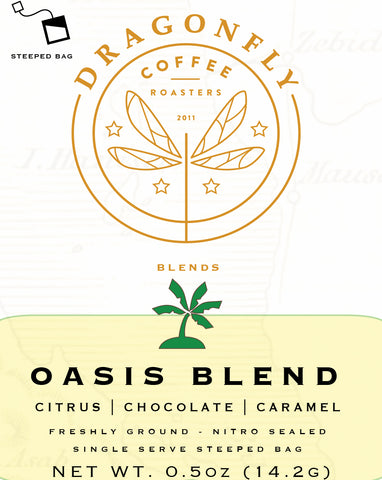 Steeped Pack Single Serve 10 x 14.2g OASIS BLEND