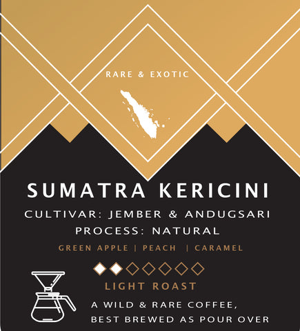 Sumatra Kerincini Natural - 12oz Whole Bean