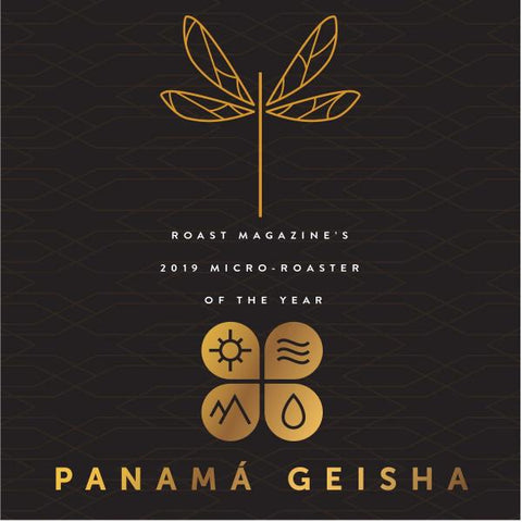 Panama Geisha - Elida Estate Green Tip Natural - 8oz WHOLE BEAN