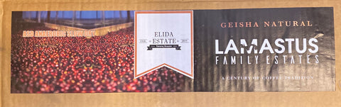 Panama Geisha - Elida Estate Green Tip ASD - 8oz WHOLE BEAN