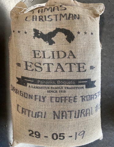 Elida Natural - Dragonfly Lot 2020 - 12oz WHOLE BEAN