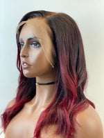 Burgundy Frontal