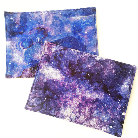 Starry Galaxy Night Candle Cloth