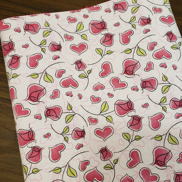 Hearts & Roses Book Sleeve