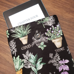 Garden Herbs Book Sleeve