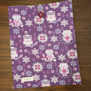 Retro Owl Book Sleeve
