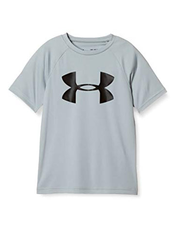 Under Armour Boys' Tech Big Logo Short Sleeve