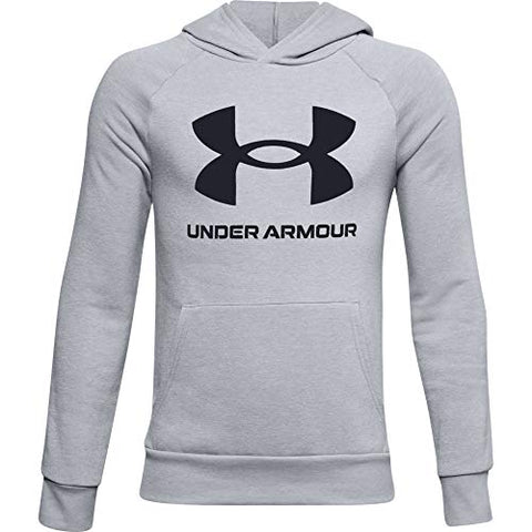 Under Armour Boys' Rival Fleece Big Logo Hoodie