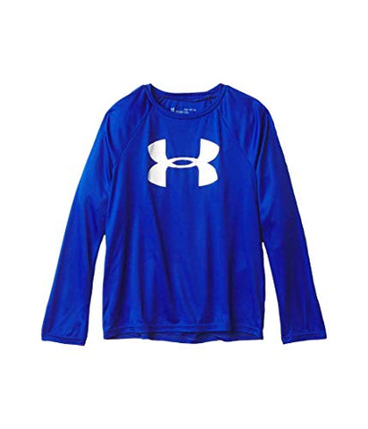 Under Armour Boys' Tech Big Logo Long Sleeve