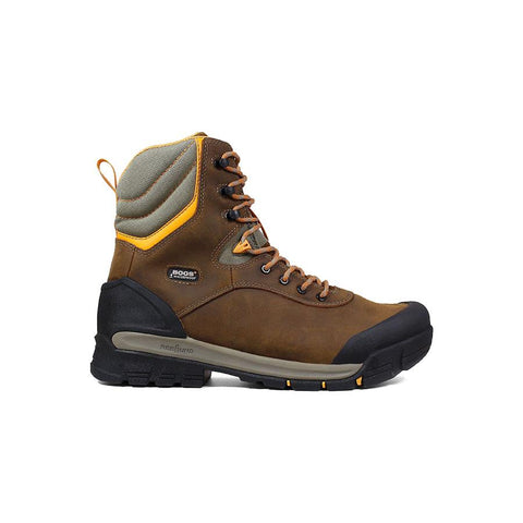 Bogs Men's Bedrock 8 in. Comp Toe Insulated Waterproof Work Boots