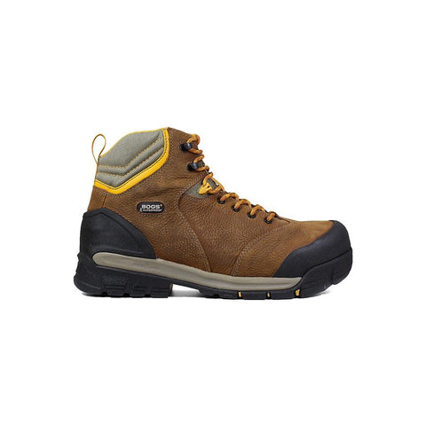 Bogs Men's Bedrock 6 in. Comp Toe Waterproof Work Boots