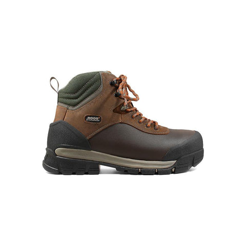 Bogs Men's Bedrock Shell 6 in. Comp Toe Waterproof Work Boots