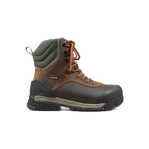 Bogs Men's Bedrock Shell 8 in. Comp Toe Waterproof Work Boots