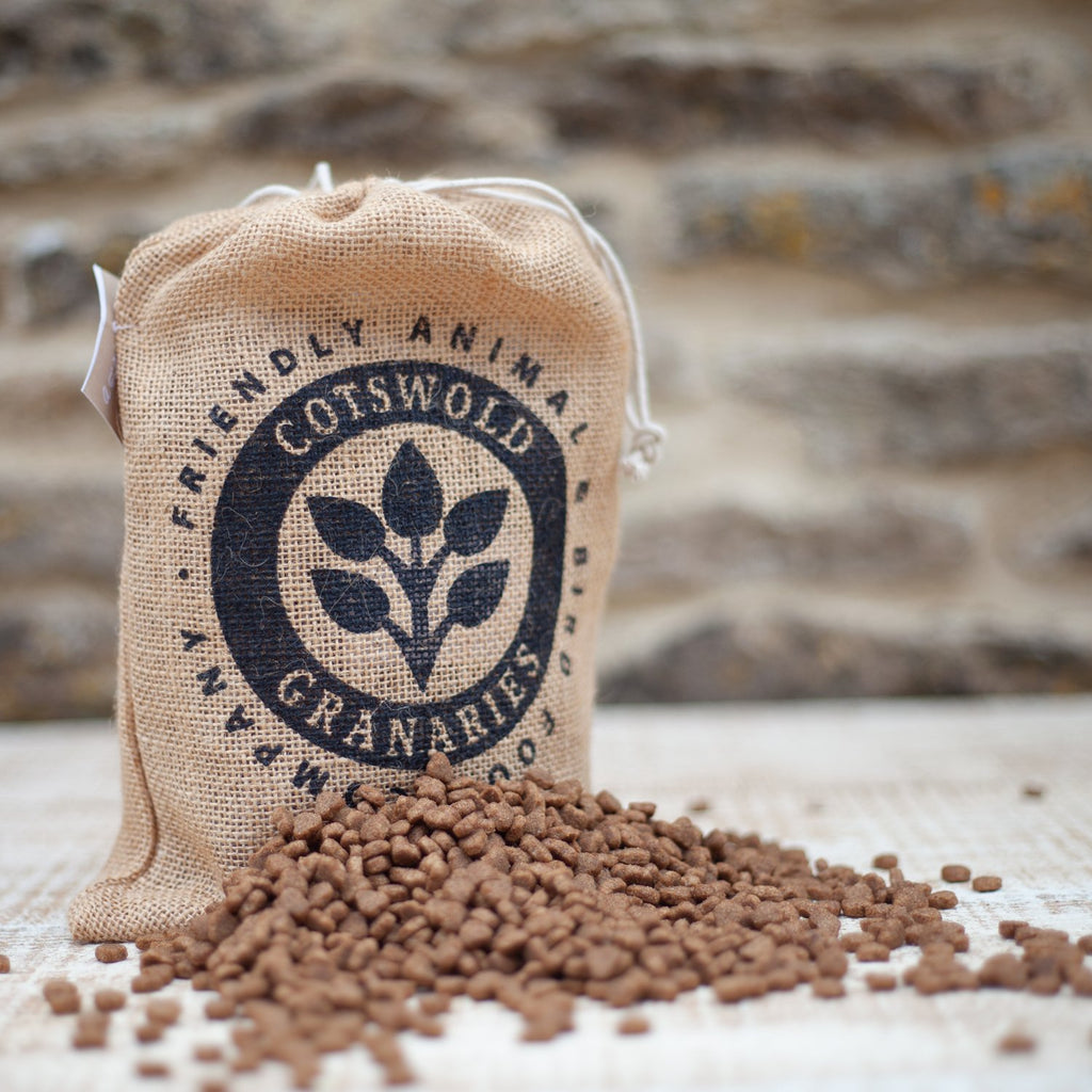 Jute Bag packaging by Cotswold Granaries