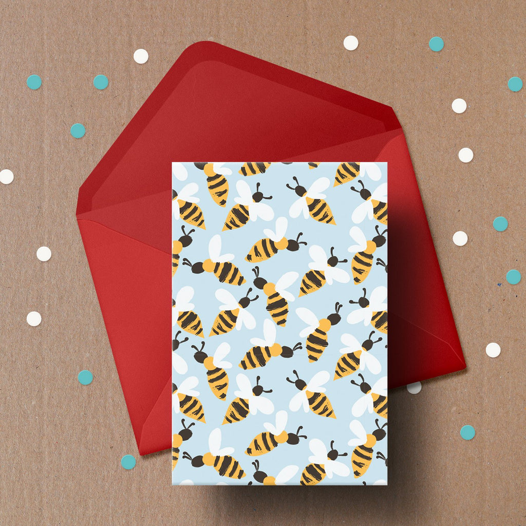 Buzzing Bee's Card