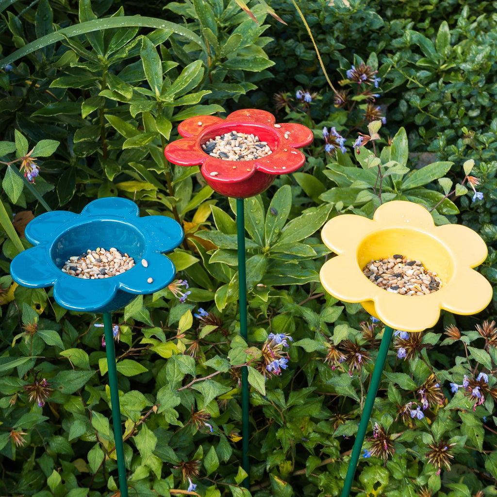 Wildlife World Petal Bird Feeders