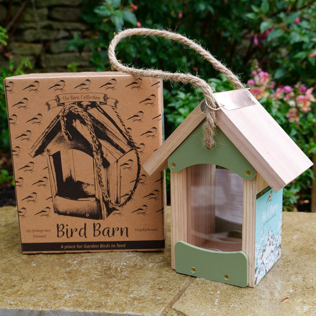 Bird Barn with box
