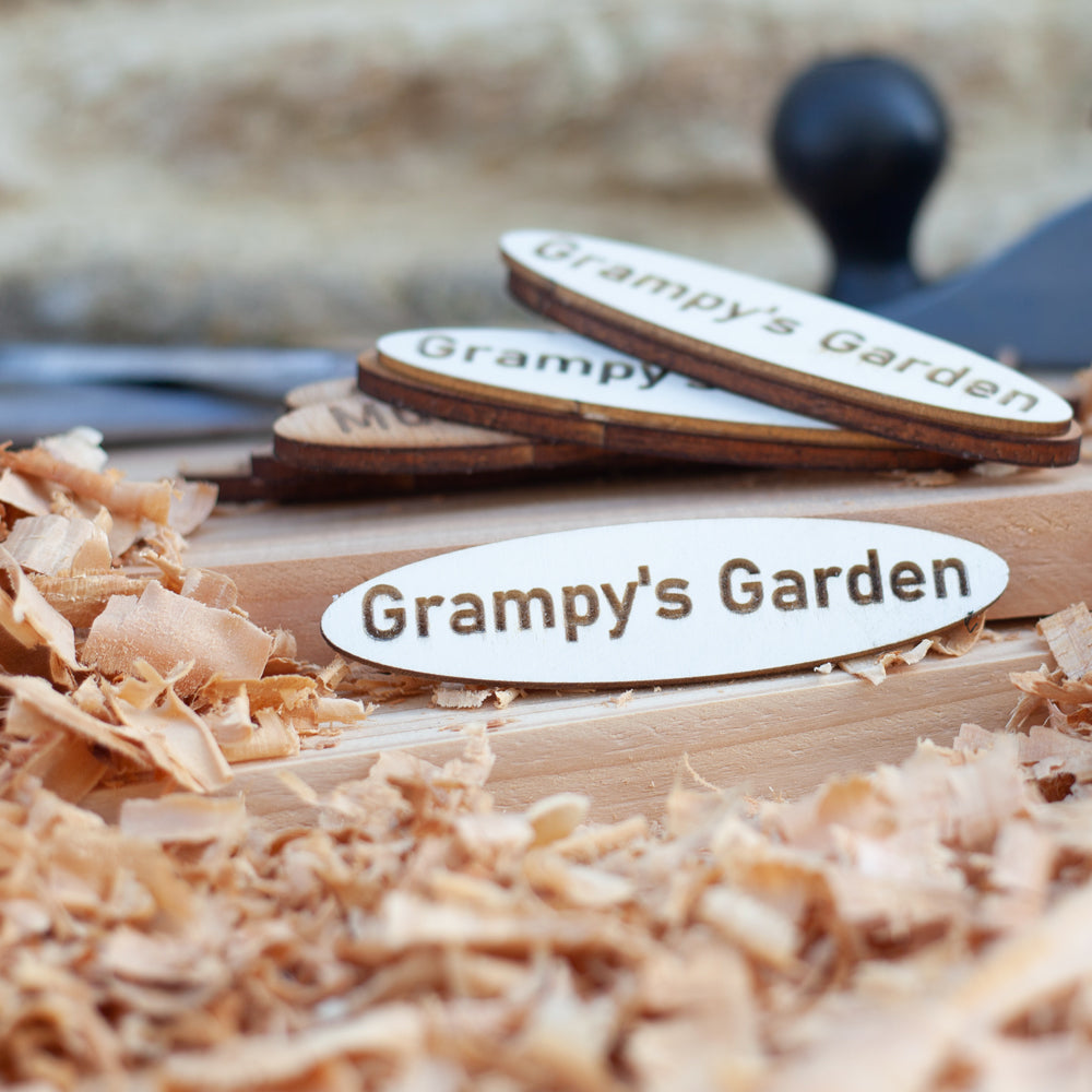 Personalised Wooden Name Plaques