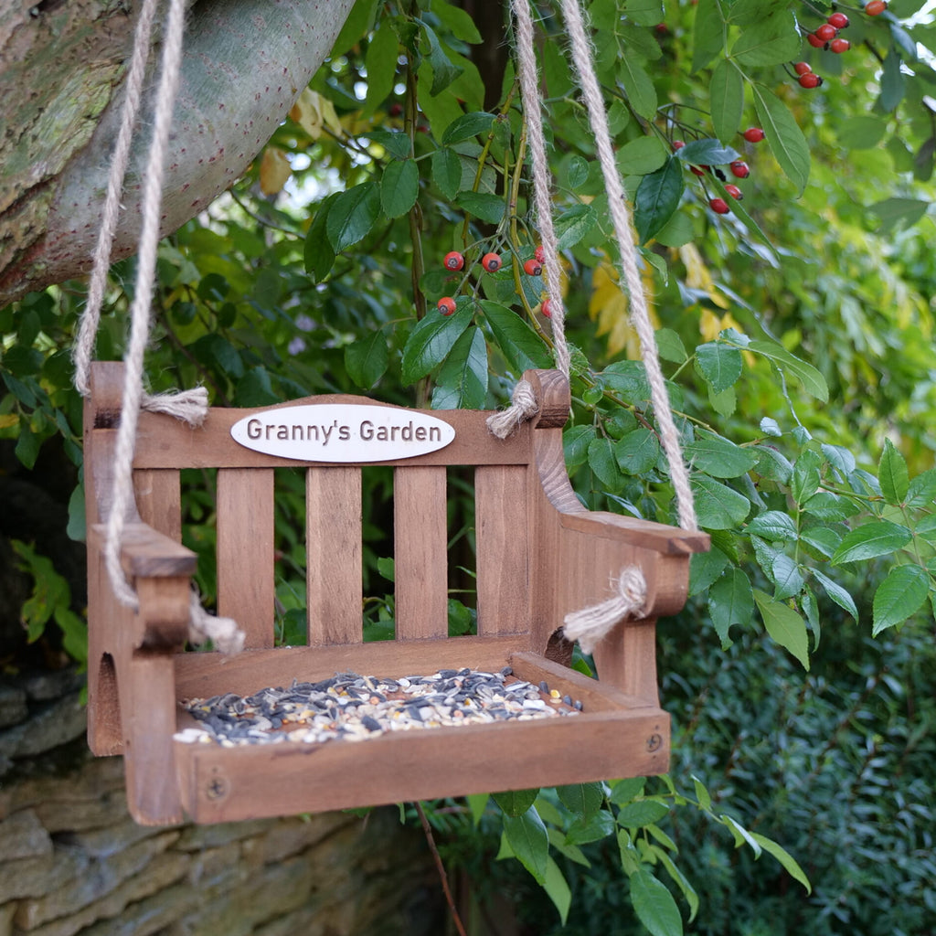 Personalised Bird Feeder