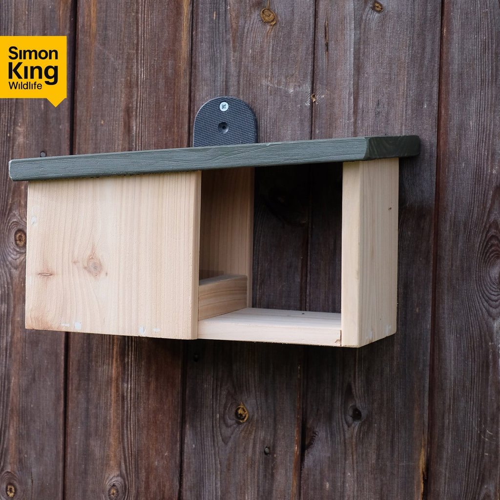 Simon King Wooden Robin Nestbox