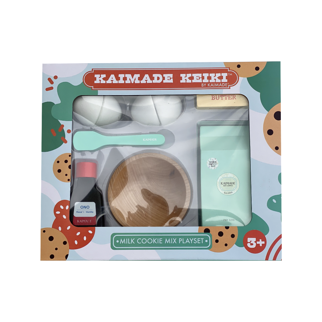 Kaimade Keiki™ Milk Cookie Mix Play Set