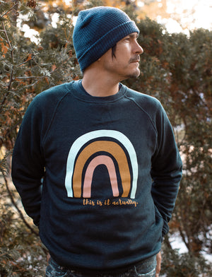 Open image in slideshow, RAINBOW TIIA crew sweatshirt