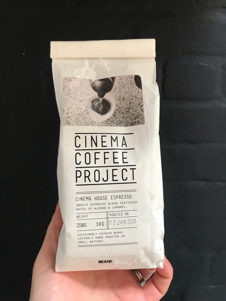 Cinema coffee project Espresso beans