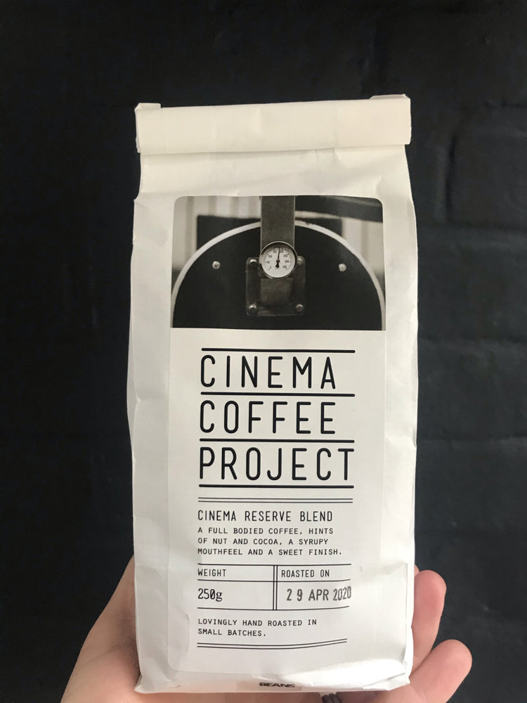 CINEMA COFFEE HOUSE BLEND GROUND