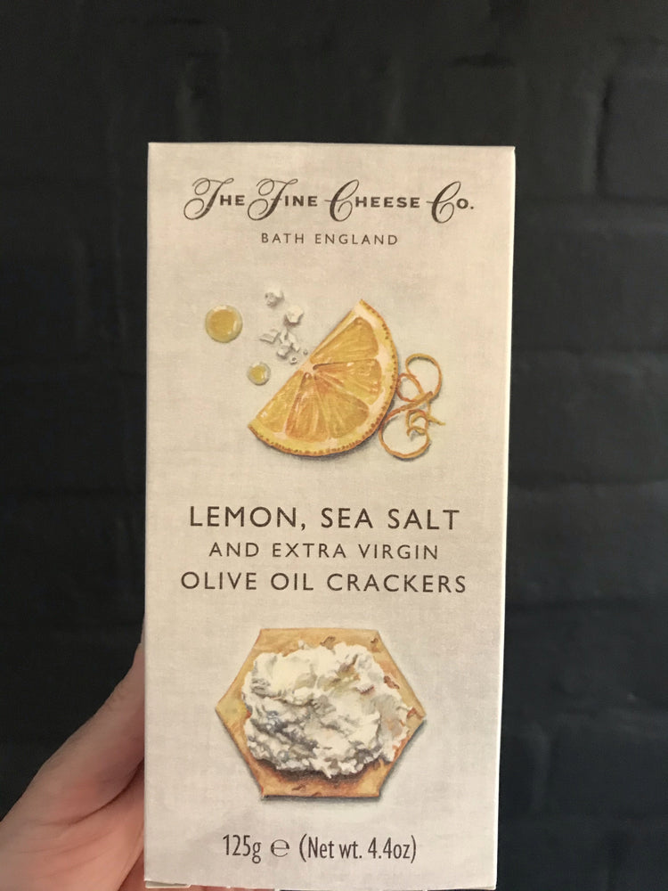 LEMON , SEASALT & OLIVE OIL CRACKERS