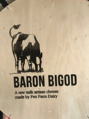 Load image into Gallery viewer, Baron Bigod Raw milk Brie style cheese