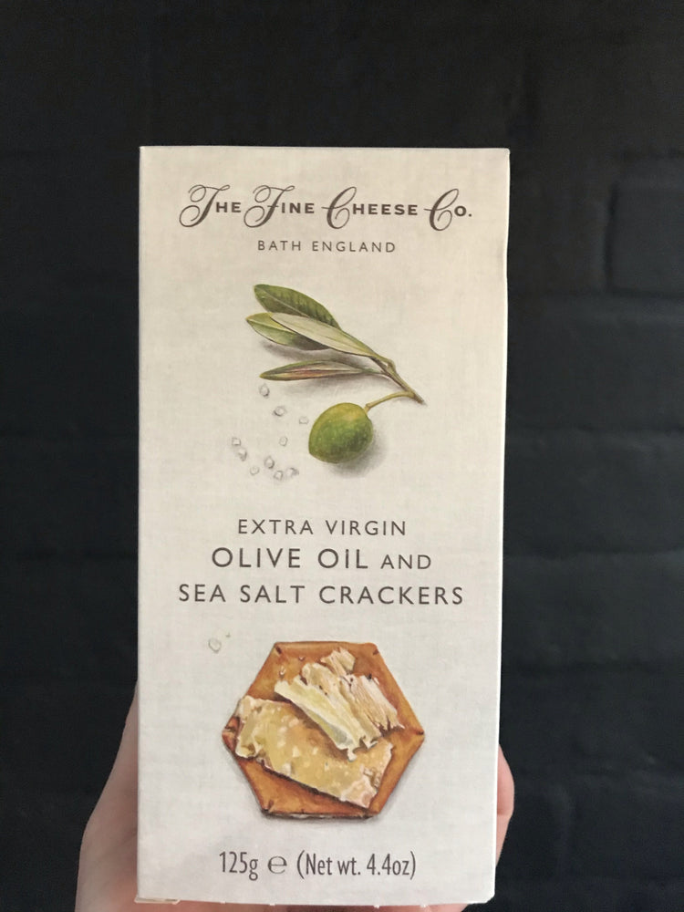 EXTRA VIRGIN OLIVE OIL & SEASALT CRACKERS