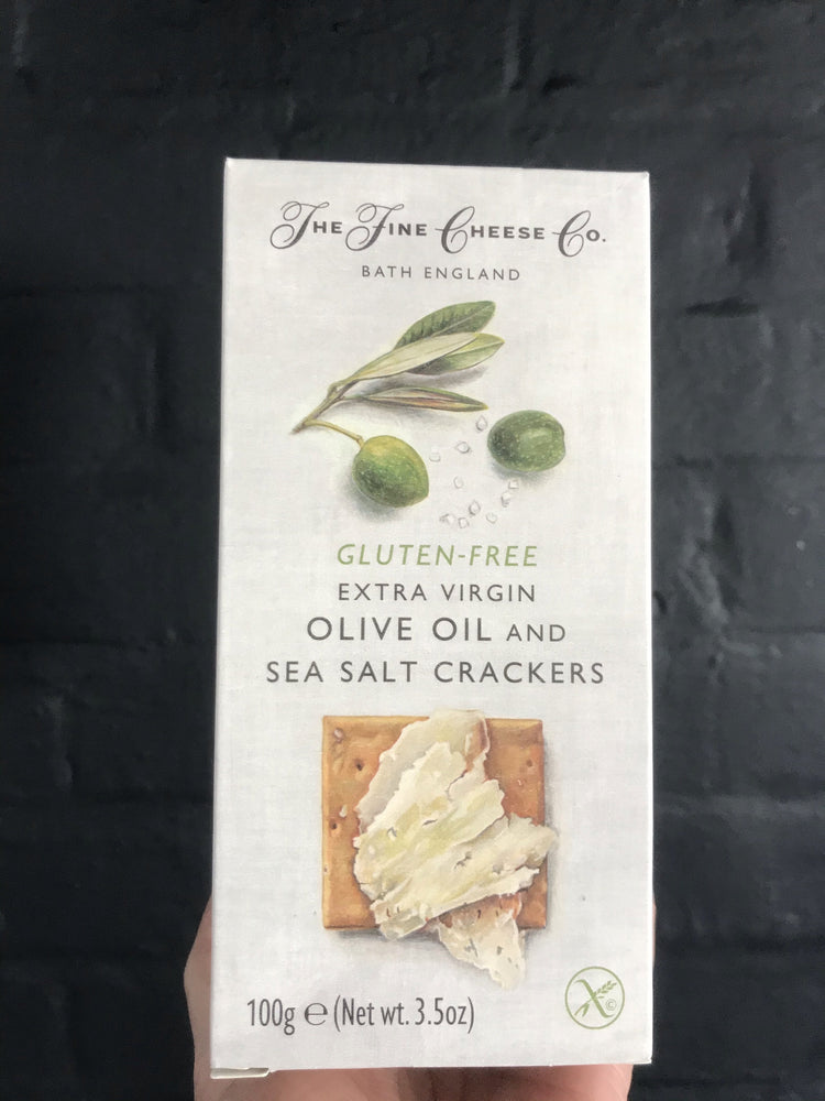 EXTRA VIRGIN OLIVE OIL &SEASALT CRACKERS GLUTEN FREE