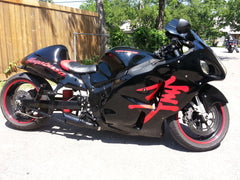 1999 - 2007 GSXR 1300 Hayabusa  - Punisher Series