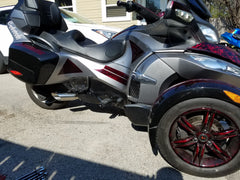 2010 - 2013 Can-Am Spyder RT - Punisher  Shorty Series